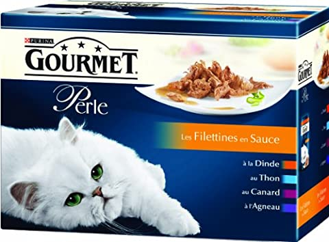 Gourmet Perle - Les Filettines - 12 x 85 g