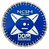 Dixie Diamant Verarbeitung ncsm14125Preis Grade für trockene/Nassschnitt Brick & Block, 35,6cm x 0.125-inch X 1mit 20mm Lenker