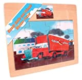 Oliver Overdrive Wooden Puzzle