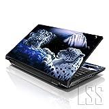 LSS ordinateur portable 17 '/ 17,3' avec Skin autocollant en vinyle Compatible 16,5 '/ 17' et 17,3 '18,4'/19 '/ HP, Dell, Asus, Acer, Apple Lenovo Asus Compaq (2 repose-poignet comprises) Mountain Lion