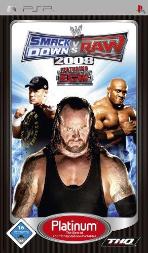WWE Smackdown vs. Raw 2008 [Platinum] (Wrestling Psp-spiele)