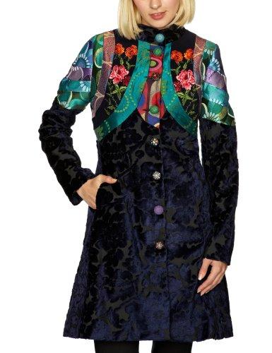 Desigual - manteau - femme - bleu (azul artico)...