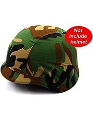 Worldshopping4U M88PASGT casco de combate kelver–Casco de protección (5colores), No incluye el Cubierta de camuflaje para casco, para caza de Airsoft Gear, Camuflaje
