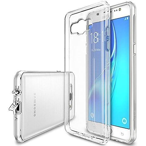 Funda Galaxy J5 2016, Ringke [AIR] Funda Choque Absorción Claro Flexible TPU Suave Gel [resistente a arañazos & Protección gota] Funda para Samsung Galaxy J5 2016 - Crystal View