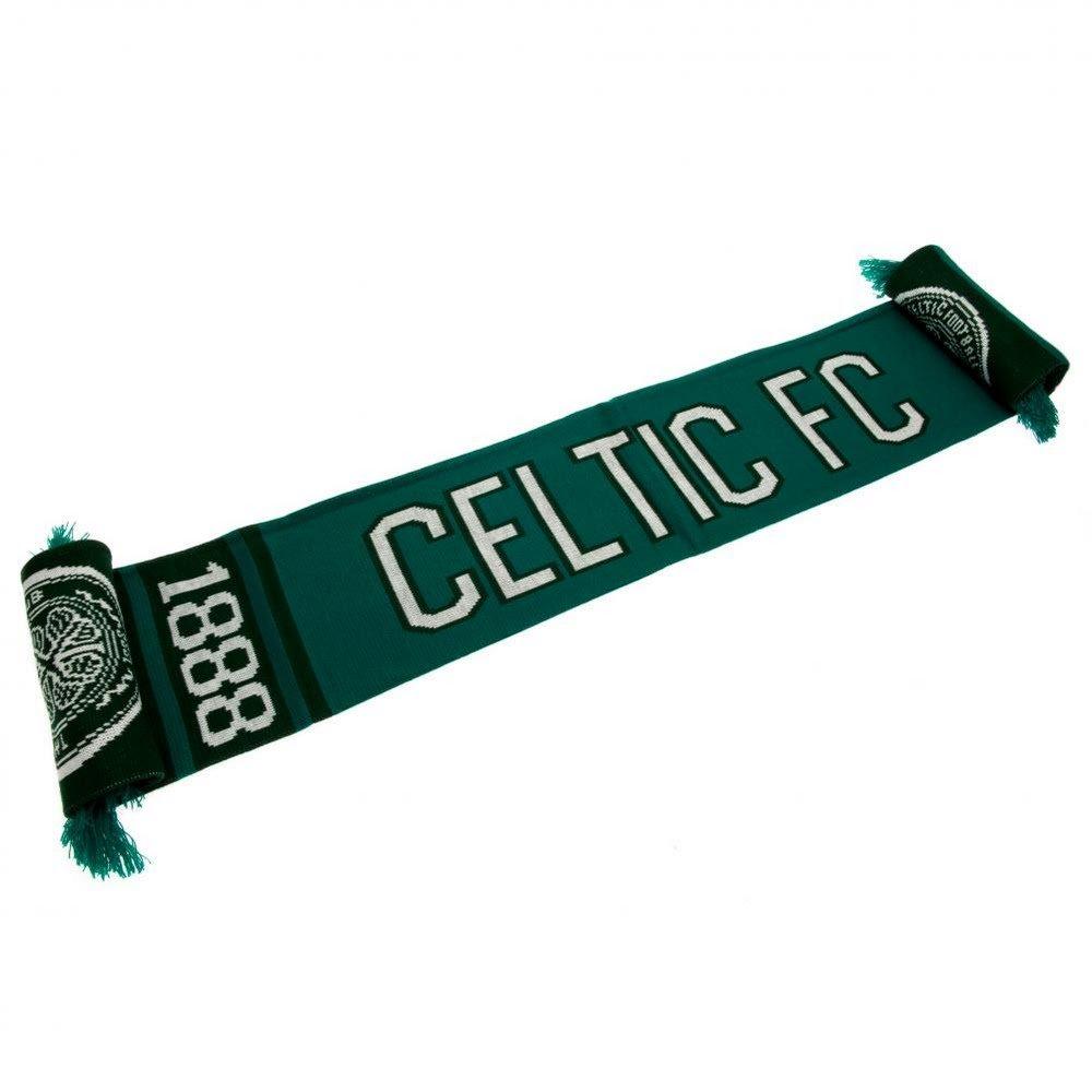 Official Glasgow Celtic Fc Large Nero Sciarpa