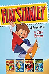 Flat Stanley 4 Books in 1!: Flat Stanley, His Original Adventure; Stanley, Flat Again!; Stanley in Space; Stanley and the Magic Lamp by Jeff Brown (2016-06-07)