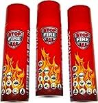 3er Set Stop Fire 500 Feuerlöschspray...
