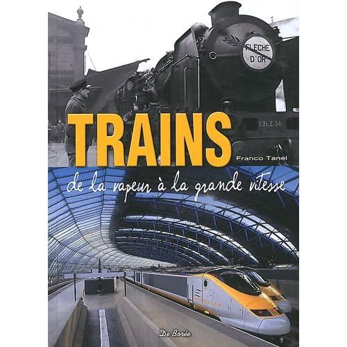 Trains de la vapeur à la grande vitesse