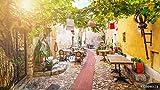 druck-shop24 Wunschmotiv: Street in Medieval Eze Village at