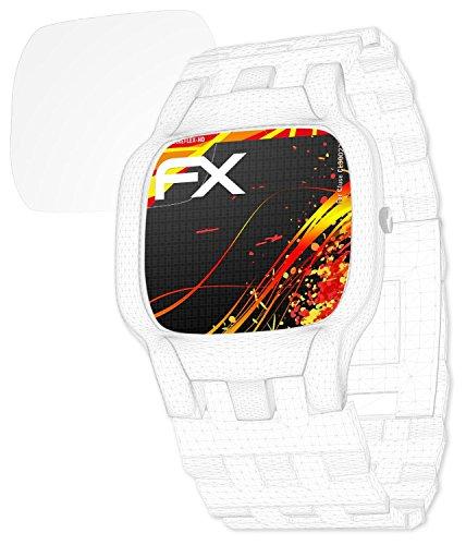 atFoliX Schutzfolie kompatibel mit Cluse CL30023 Displayschutzfolie, HD-Entspiegelung FX Folie (3X)