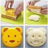 Virtue 1PCS New Little Plastic Bear Shape Sandwich Cutter Bread Toast Mold Mould Maker DIY Mold Craft Mould