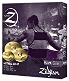 Zildjian Planet Z (Pack of 4) PLZ4PK Consisting of Hats, Crash, Ride