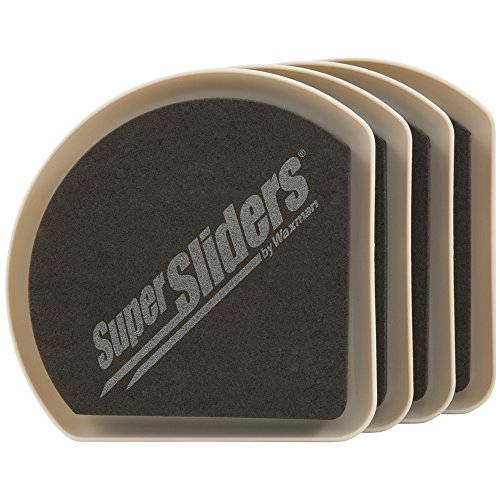 Riutilizzabile Slide & Hide Furniture movers per superfici in moquette, 4pezzi-5supersliders by Super Sliders