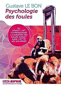 Psychologie des foules (manga) par Gustave Le Bon