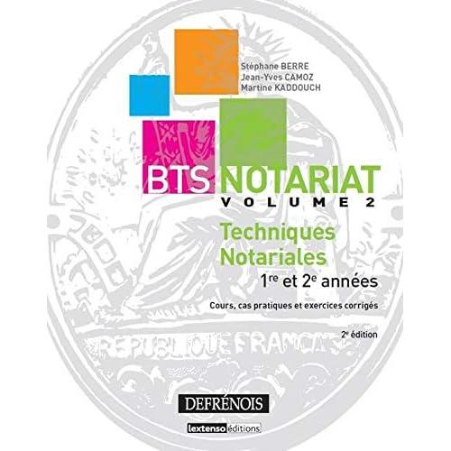BTS Notariat Techniques notariales