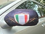 2x Auto Spiegel Rückspiegel Car Bikini EM 2016 Italien Italy Italia Fahne Flagge Flag