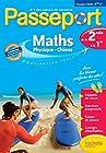 Passeport - Maths Physique Chimie de la 2de à la 1re - Cahier de vacances