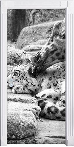 farcito-leopardo-santander-e-la-giraffa-arte-b-w-come-murale-formato-200x90cm-telaio-della-porta-ade