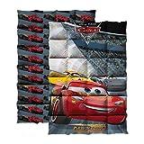 CARS Couette imprimée 140x200 cm gris. rouge et jaune