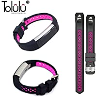 For Fitbit Alta / Alta HR Colorful Hollow Watch Band Bangle Strap Bracelet+Metal Buckle For Fitbit Alta / Alta HR Sports Silicone Accessory Band Strap Wristband Bracelet