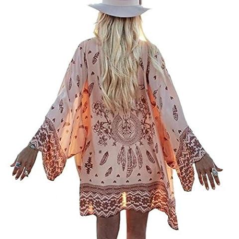Veste Kimono Femme - Nouvelle arrivee!!! Amlaiworld Femmes Bohemia Imprimé en