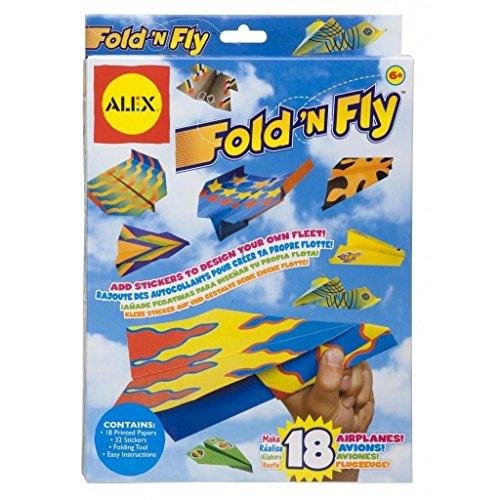 Alex Toys - Aviones de papel (192W)