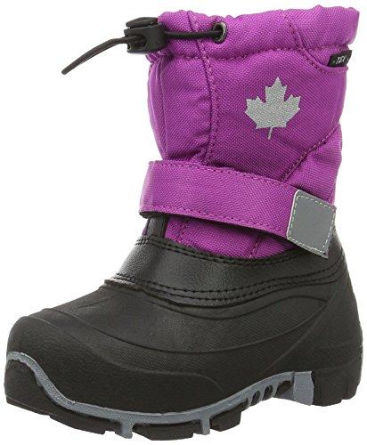 Canadians Unisex-Kinder Allwetterstiefel Schneestiefel Violett (510 FUCHSIA)