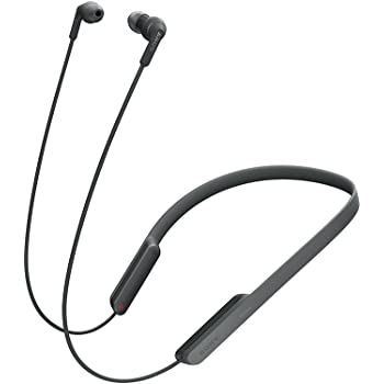 Sony MDR-XB70BT Extra Bass in-Ear Neck-Band Style Headphones with Bluetooth and NFC (Black)