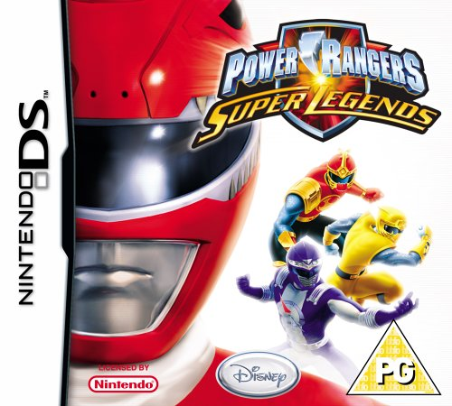 Image of Power Rangers: Super Legends (Nintendo DS)