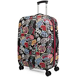 LOIS - 55560 TROLLEY POLICARBONATO, Color Negro