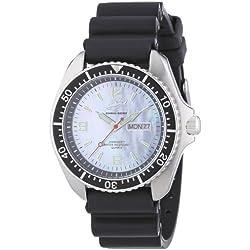 Chris Benz Men's Quartz Watch CBO.H.KB.SW with Rubber Strap