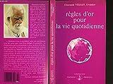 Regles d'or pour vie quotidienne - Prosveta - 01/01/2011