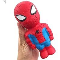 WIN86haib Super Hero Spiderman Iron Man Batman Superman Squeeze Squishy Slow Rising Toy