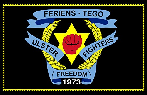 magFlags Bandiera Large Ulster Freedom Fighters | Used by the Ulster Freedom Fighters; a loyalist paramilitary group in Northern Ireland 90x150cm
