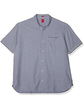 s.Oliver Big Size Camicia Casual Uomo