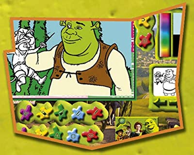 Shrek 2 Paint & Create : everything 5 pounds (or less!)