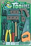 #4: Tool Set, Tool Kit for Kids and Toddlers with 14 tools. Best Gift to Children-Contents and colour May Vary from Images