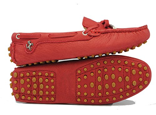 Minitoo , Sandales femme Rosso (Red-Nubuck Leather)