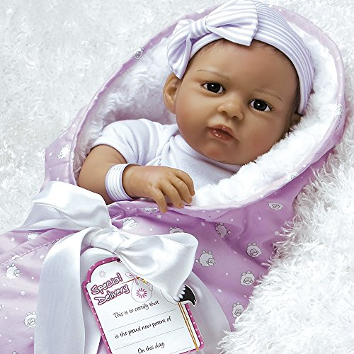 Paradise Galleries Super à Reborn poupée Qui Semble Vivant Réaliste Doux Flex Touch 51cm Hispanic Baby Girl poupée Cadeau The Princess Has Arrived