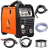 MIG Soldador Inverter Mig Soldadura 200Amp 220V DC MIG MAG ARC LIFT TIG ARC Máquina...