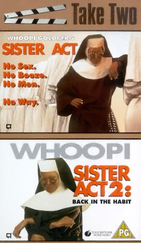 Sister Act 1 & 2 [VHS] [UK Import]