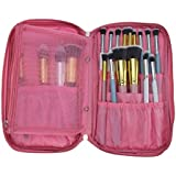 BestFire C2 AE BestFire Professional Makeup Brush Bag Multifunctional Cosmetic Zipper Organizer Case For Travel...