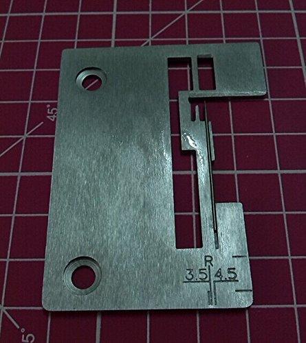 NEEDLE PLATE #550443-452 fits Pfaff SINGER SERGER 14SH654,14U554,14SH644,14SH754 pfaff 4772 by Sewing