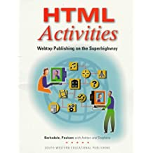 Html Activities: Webtop Publishing on the Superhighway