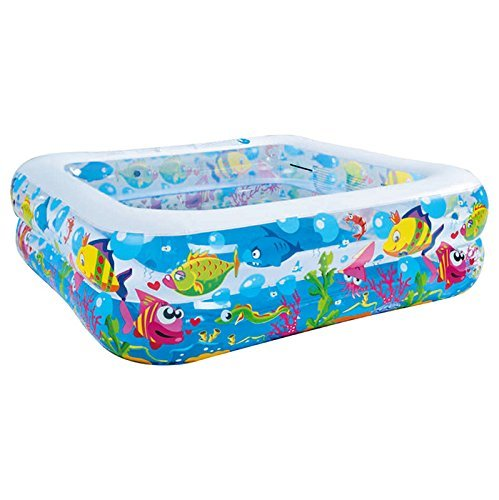 jilong-sea-world-square-pool-large-rectangular-childrens-pool-with-fun-sea-animals-print-for-childre