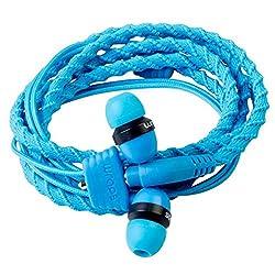 Wraps Wrapscbluv5 Classic Wristband Earphones Blue