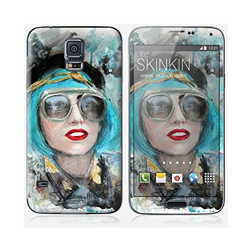 Coque iPhone 6 Plus et 6S Plus de chez Skinkin - Design original : Lady gaga glasses par Denise Esposito Skin Samsung Galaxy S5
