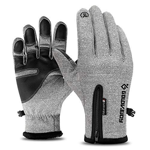 Ski Handschuhe Im Freien Wasserdichte Winter-Touchscreen Männer Winddicht Warme Reitsport Frauen Plus Samt Klettern Camping Jungen Und Mädchen