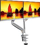 """ONKRON Dual Monitor Tischhalterung für 13"""" - 32 Zoll LED LCD Bildschirmen G200"""