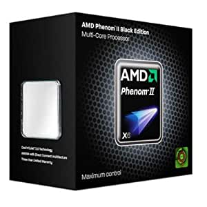 AMD Phenom II X6 1090T Black Edition Six-core Processor - 3.20 GHz, 9 MB Cache, Socket AM3, 125W, 45 nm, 3 Year Warranty, Retail Boxed